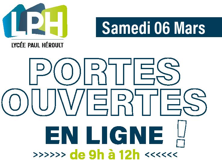 JPO : Journée Portes Ouvertes en ligne 2021 du Lycée Paul Héroult